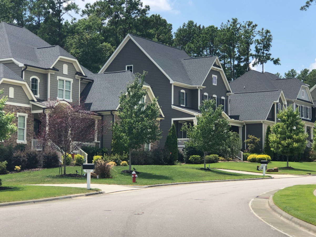 large lots in Cary, NC; large lots in 27519, single family homes in near Tobacco Trail