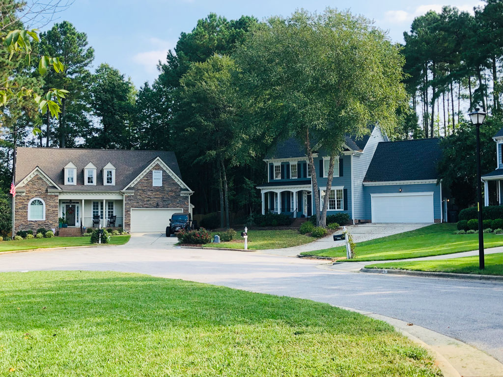 Two Homes in Abbington neighborhood Apex NC