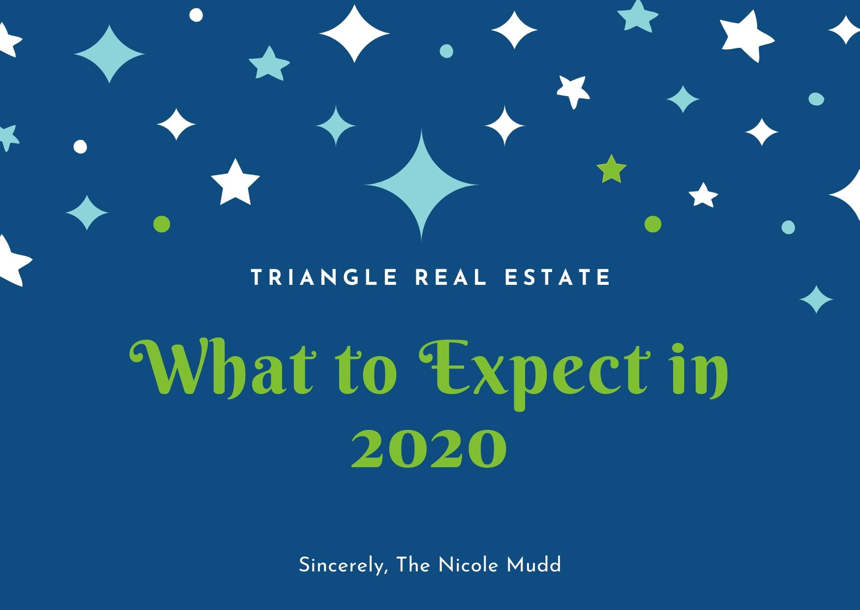 Happy 2020 from Nicole Mudd