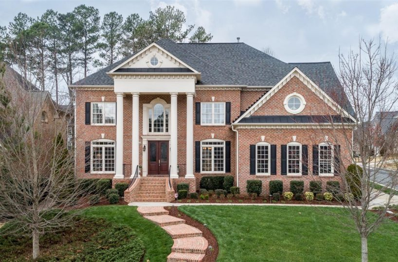Executive home 110 Level Ridge Drive Cary NC