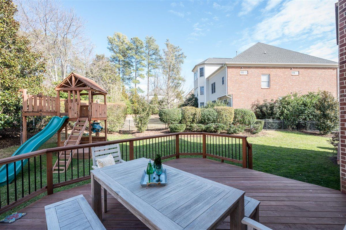 Home for sale in Cary - backyard