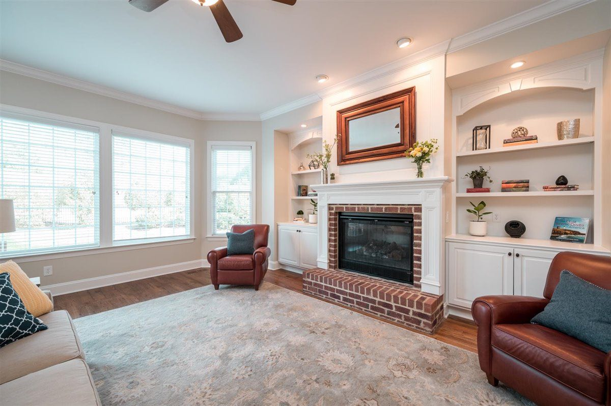 Home for sale in Cary - living room