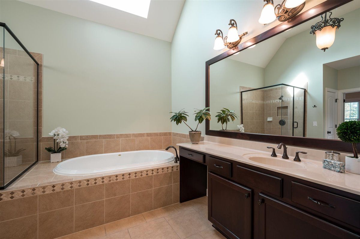 Home for sale in Cary - master bath