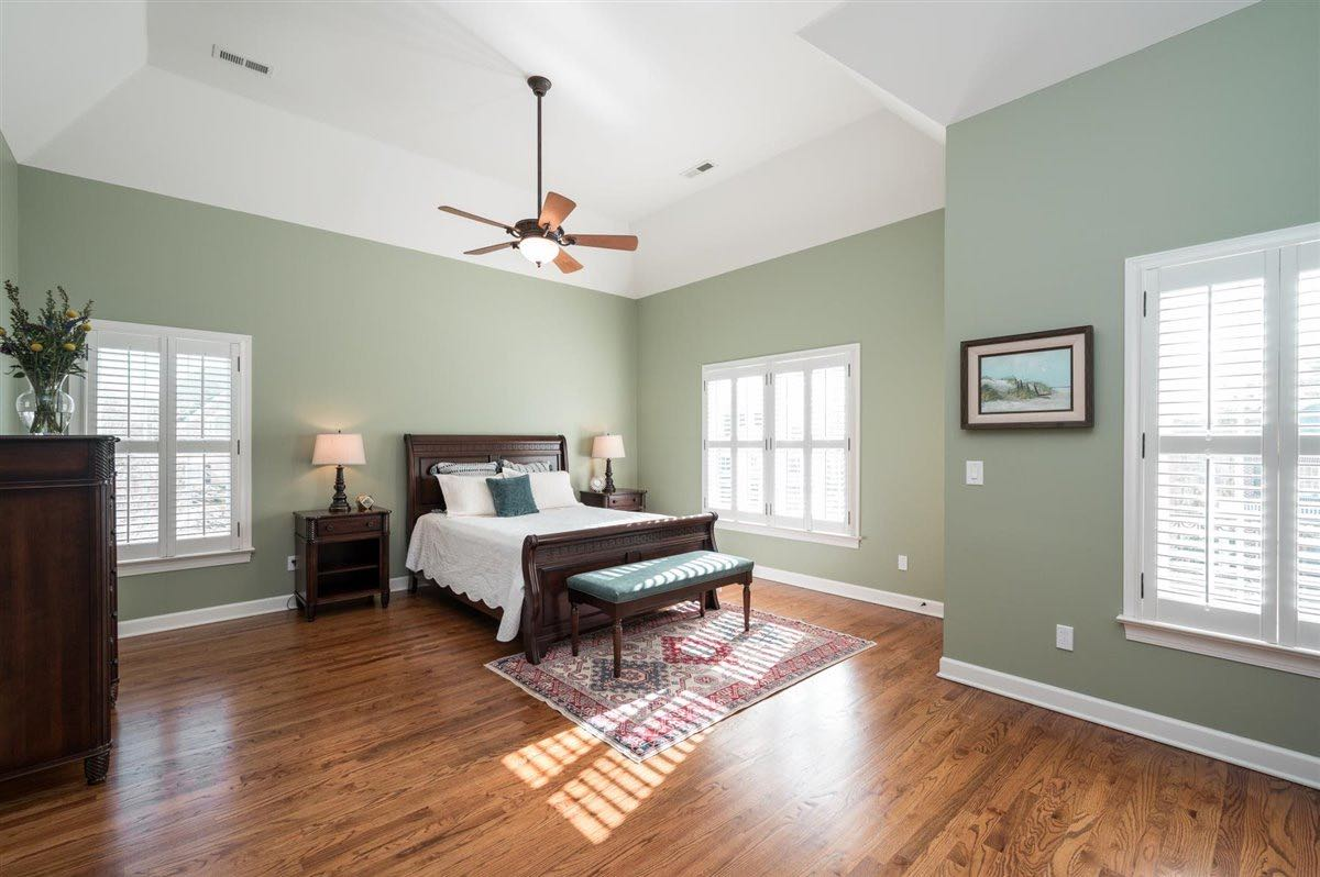 Home for sale in Cary - master bedroom