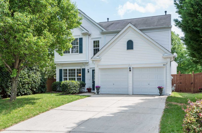 Front of 103 Button Rd Morrisville NC